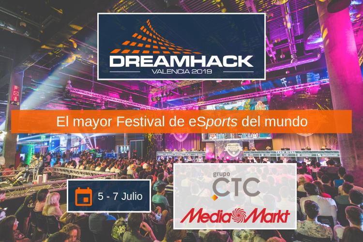 Grupo CTC. Empresa de Externalización. Empresa de Outsourcing. Cadena Logística. Operaciones Industriales. Trade Marketing. DreamHack Valencia 2019.
