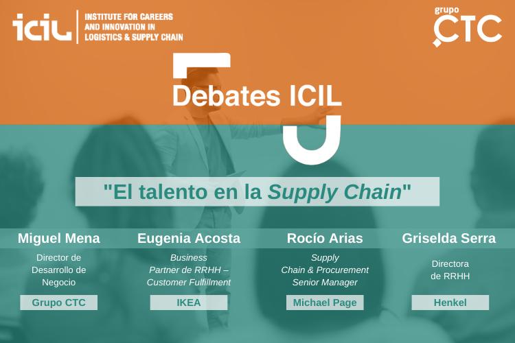 Grupo CTC. Empresa de Externalización. Empresa de Outsourcing. Operaciones Industriales. Cadena Logística. Trade Marketing. Debates ICIL 2020. Talento.